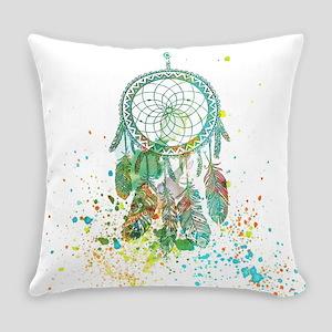 Dreamcatcher splatter Everyday Pillow