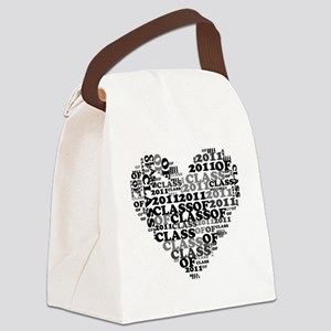 WORD CLASS OF 2011 Canvas Lunch Bag