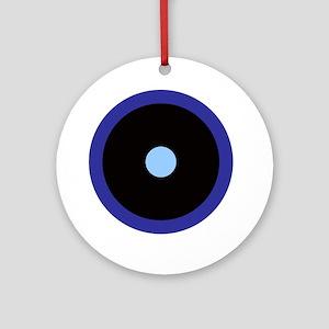 Aquarius  Scorpio Libra Round Ornament