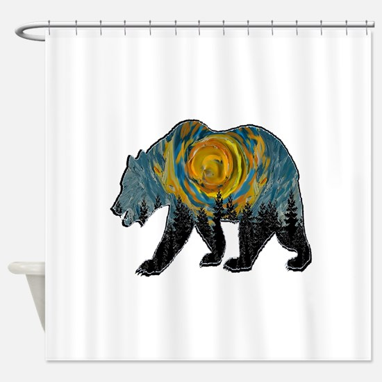 DAY BREAKING Shower Curtain