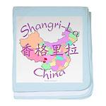Shangri-La China baby blanket