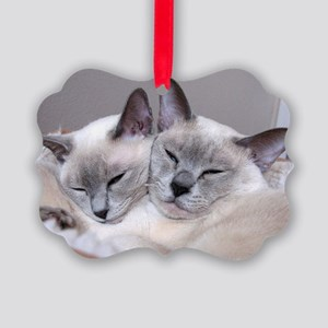 Buds for Life Picture Ornament