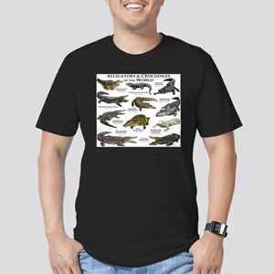 Alligator & Crocodiles of the World Men's Fitted T