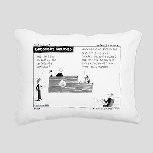 090727b.forensics Rectangular Canvas Pillow