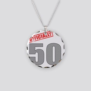 officially_50 Necklace Circle Charm