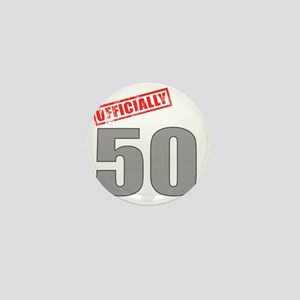 officially_50 Mini Button