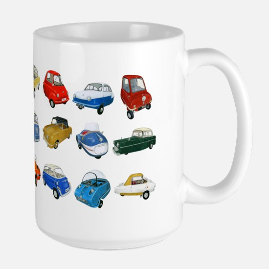 2-microcars Large Mug