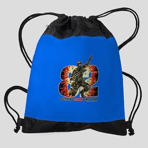 Snake Eyes Drawstring Bag
