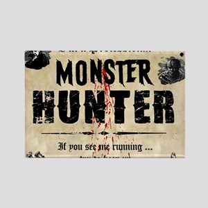monsterhunter_mousepad Rectangle Magnet