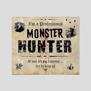monsterhunter_mousepad Throw Blanket