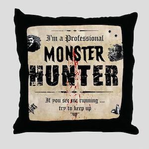 monsterhunter_mousepad Throw Pillow