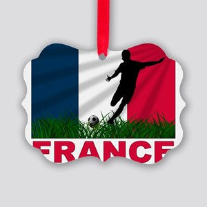 FRANCE soccer Picture Ornament