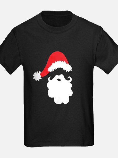 Santa Hat & Beard T-Shirt