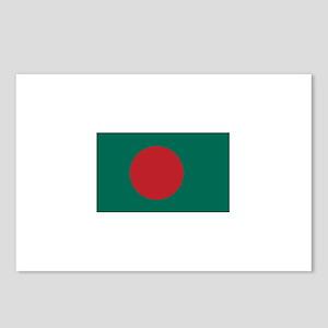 Bangladesh Flag Postcards (Package of 8)