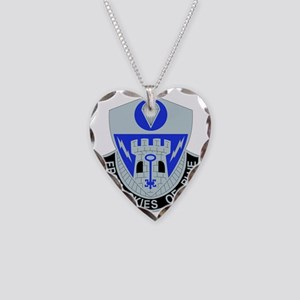 DUI-2ND BCT SPECIAL TROOPS-82 Necklace Heart Charm