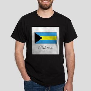 Bahamas - Flag Dark T-Shirt