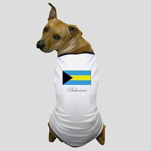 Bahamas - Flag Dog T-Shirt