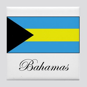 Bahamas - Flag Tile Coaster