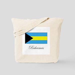 Bahamas - Flag Tote Bag
