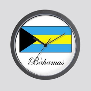 Bahamas - Flag Wall Clock