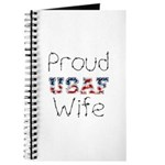 Barbed Wire Proud USAF Wife Journal