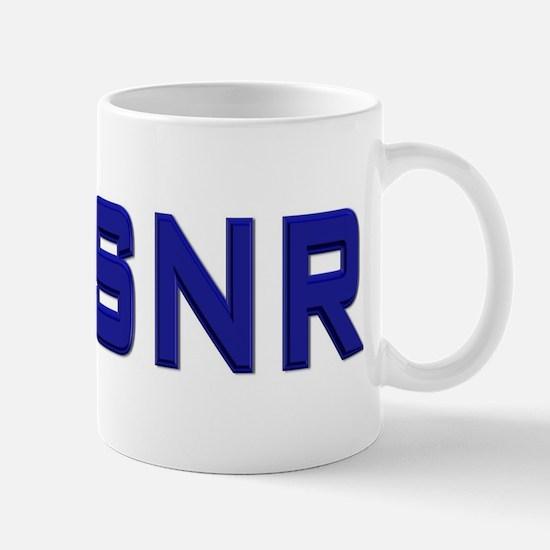 Commander, USNR Mug