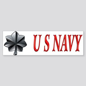 Commander USN Bumper Sticker