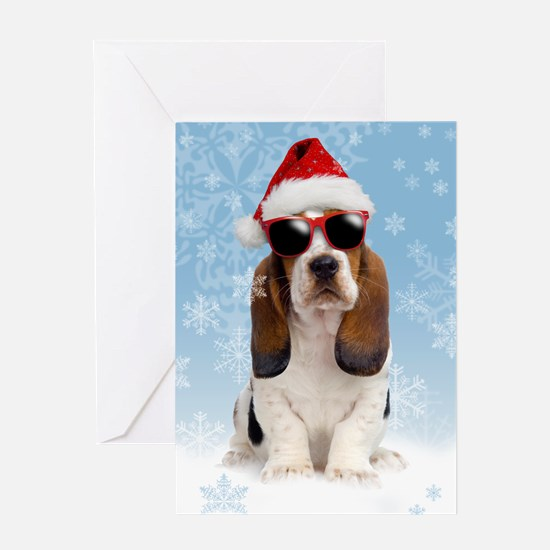 Cool Yule Christmas Card 2 Greeting Card