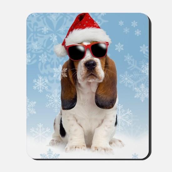 Cool Yule Christmas Card 2 Mousepad