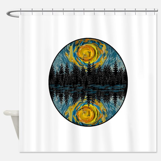 BEFORE DAY Shower Curtain