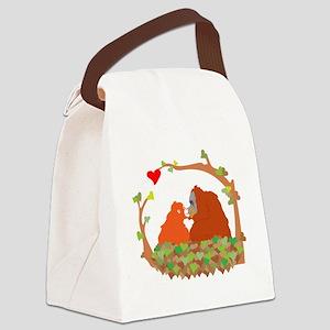 orangsforcafepress Canvas Lunch Bag
