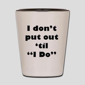 PutOut Shot Glass