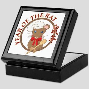 Year of the Rat-no date Keepsake Box