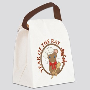 Year of the Rat-no date Canvas Lunch Bag