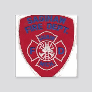 "FIRE PATCH Square Sticker 3"" x 3"""