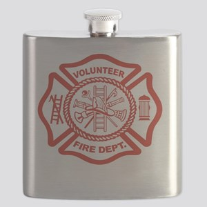 VOLUNTERR FIRE Flask