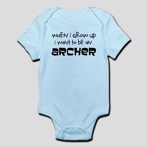 When I Grow Up Archery Body Suit