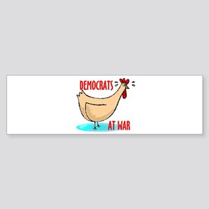 DEMOCRAT CHICKENS Bumper Sticker