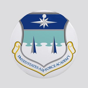 Air Force Academy Round Ornament