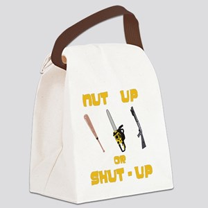 NutUpShutUp Canvas Lunch Bag