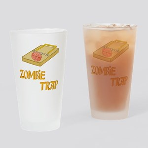 3-ZombieTrap Drinking Glass