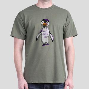 Crazy Penguin Lady Dark T-Shirt