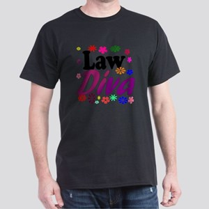 lawdiva black1 Dark T-Shirt