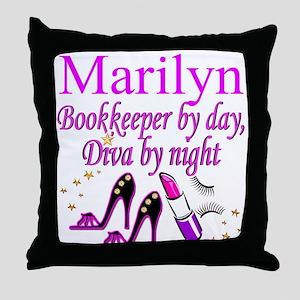 BOOKKEEPER Throw Pillow