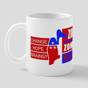 Zombie Reagan Sticker 1 Mug