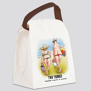 Thong Canvas Lunch Bag