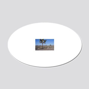 Joshua Tree 1 20x12 Oval Wall Decal