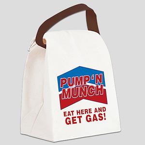 pump n munch Canvas Lunch Bag