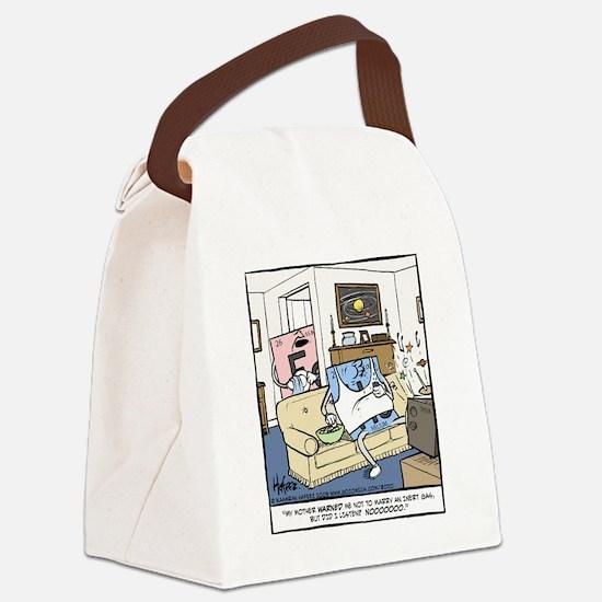 Inert Gas Final Canvas Lunch Bag