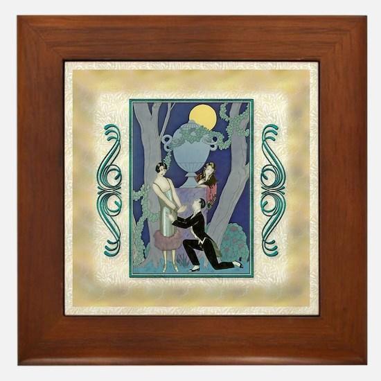 Keepsake-6 June Barbier-Love- Framed Tile
